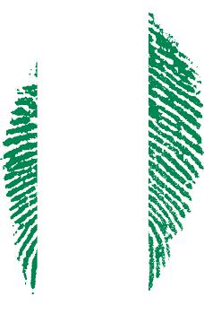 Nigerian fingerprint