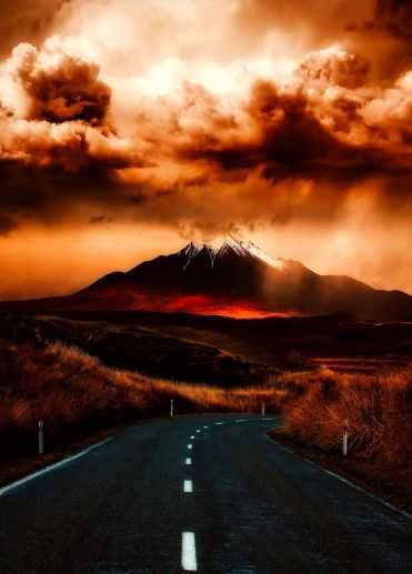 difficult road