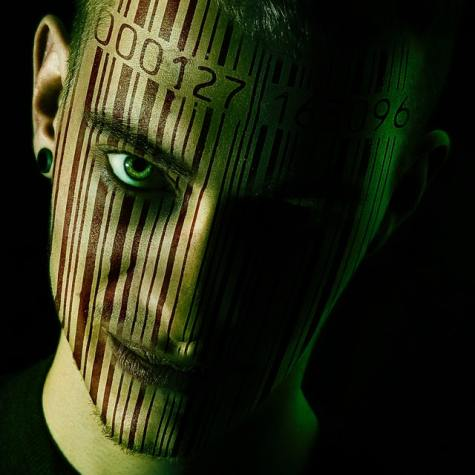man-s-face-with-barcode-228838